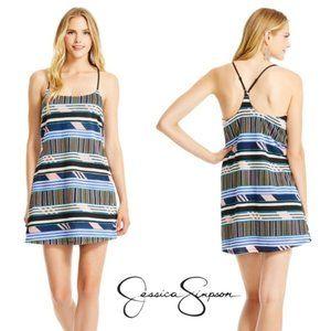 Jessica Simpson Virginia Dress Medium Women Junior